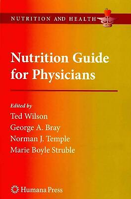 Nutrition Guide for Physicians (English) Paperback Book Free Shipping!