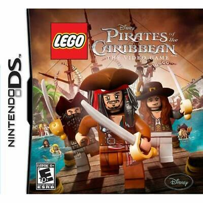 Lego Pirates Of The Caribbean For Nintendo DS DSi 3DS 2DS Disney Game Only 8E