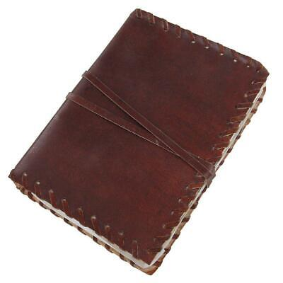Medieval Handmade Rustic Leather Diary Journal Vintage Blank 240-Page Notebook