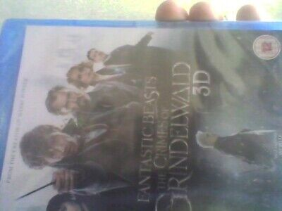 Fantastic Beasts 2: The Crimes of Grindelwald (3D Blu-ray) new sealed