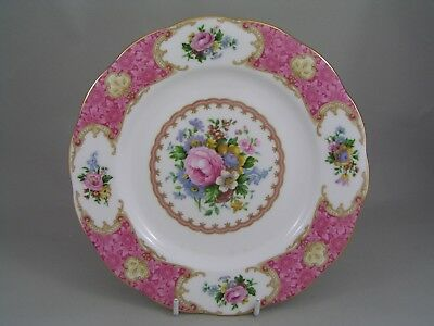 "ROYAL ALBERT LADY CARLYLE 8 1/8"" DESSERT PLATE, 2nd."
