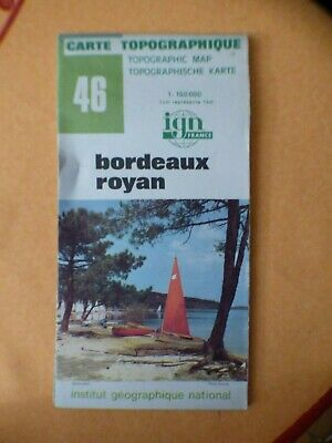 Carte Bordeaux Royan.Carte Ign Verte 39 La Rochelle Royan 1975 Eur 4 80