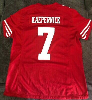 a9fc4f1b261 Colin Kaepernick San Francisco 49ers NFL Football Red Nike Jersey Size Youth  XL