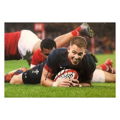 Liam Williams Signed Wales Rugby Photo
