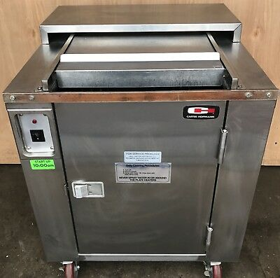 Carter-Hoffmann Cd27 Heated Enclosed Dish Cart, 160 Plate Capacity Rotary Style