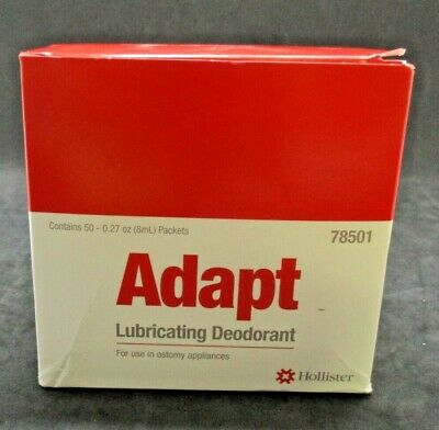 Hollister 78501 Adapt Lubricating Deodorant Exp 11/19 Box of 50