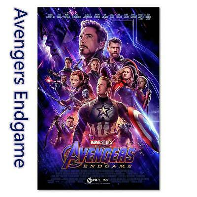 Avengers 4 Endgame Movie Poster Marvel Universe Film Prints Placard Playbill