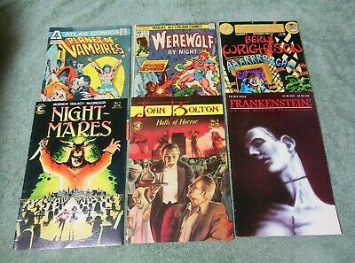 Bundle Horror Comics Werewolf by Night Frankenstein John Bolton Berni Wrightson