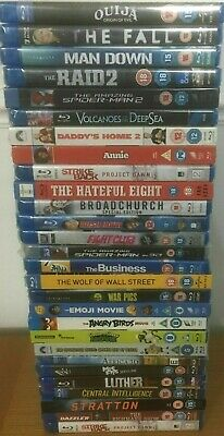 Brand NEW Sealed BLU RAY DVD Video Film Selection Bundle - Pick Your Movie/Show