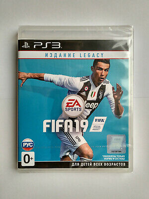 FIFA 19: Legacy Edition Playstation 3 PS3 Brand New Factory Sealed