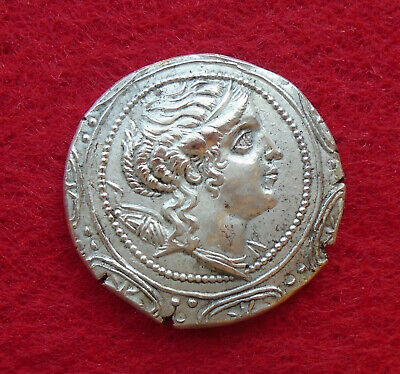 Coins & Paper Money Apprehensive Unresearched Ancient Byzantine Bronze Coin
