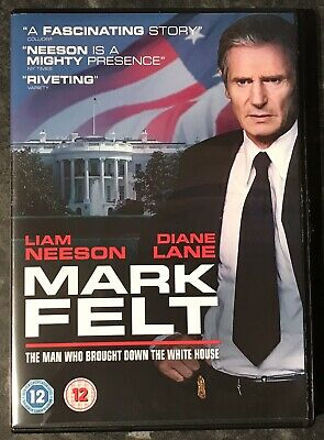 Mark Felt (The Man Who Brought Down The White House) Dvd 2018 Good As New Mint