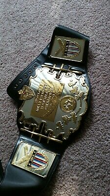 AWA official Figures Inc Replica Championship Belt WWE WWF WCW