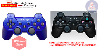 Oem Sony Ps3 Controller Dualshock 3 Wireless Six-Axis (First Class) Uk Stock