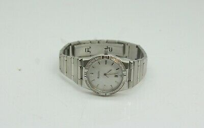 d42322e65e63 Bulova 96R009 Ladies Stainless Steel Mother Of Pearl Dial 27mm Case Watch