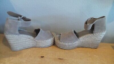 a041306ded0 NICE MARC FISHER LTD. Ml Alida Espadrille Wedge Women's Suede SIZE 7 ...