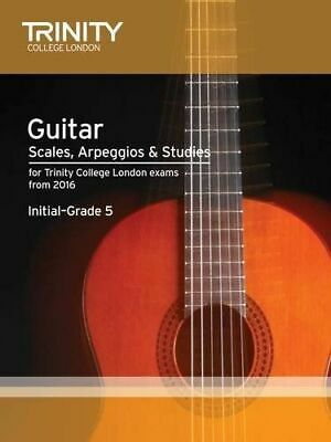 Trinity College London: Guitar And Plectrum Guitar Scales, Arpeggios And Studies