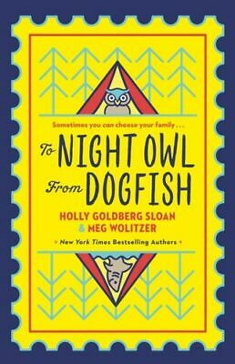 To Night Owl From Dogfish Goldberg-sloan  Holly