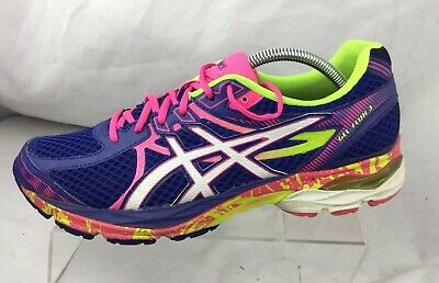 ASICS GEL FLUX 3 Shoes Womens Blue Athletic Running Cross