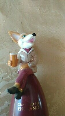 Old Speckled Hen English Ale Fox Beer Tap Handle