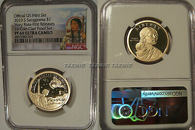 2019 S Proof Sacagawea Dollar $1 Mary Ross NGC PF 69 Ultra Cameo First Releases