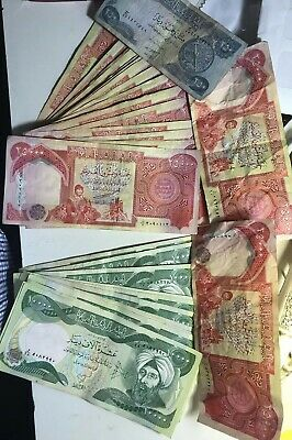 Almost One Million Iraqi Dinar IQD  680,250. Dinar Almost Uncirculated