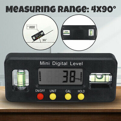 NEW Electronic Spirit Level Digital Angle Finder Protractor Inclinometer