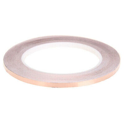 Copper Foil Adhesive Tape Shielding 3mm x 30M Conductive for Electric Guitar