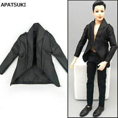 06680c20133a2 1 6 Doll Clothes Black Business Suit For Ken Doll Coat For 11.5