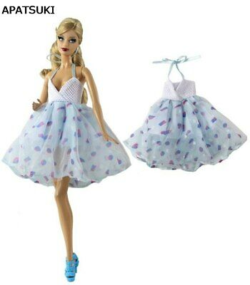 "Blue Party Dress Fashion Clothes For 11.5"" Doll Dresses 1/6 Outfits Kids Toy"