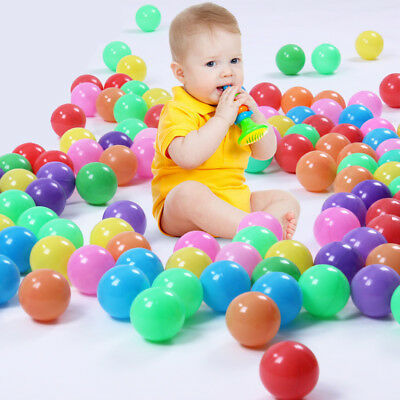 Swim Fun Colorful Soft Plastic Ocean Ball Secure Baby Kid Pit Pool Toy Low Price