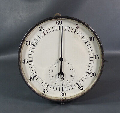 WWI WWII German Antique Wall Clock Timer Stopwatch Airship Airplane Wittnauer