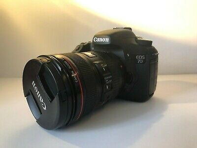 Canon EOS 7D 18.0MP Digital SLR Camera - Body Only - Low Shutter - Accesories