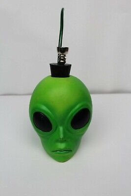 Alien Water Hookah Ceramic Glass Tobacco Pipe Green Made In The USA