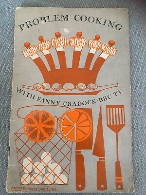 BBC TV Problem Cooking with Fanny Craddock Book. 1967