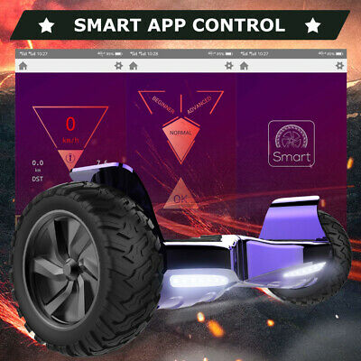 8.5'' Hoverboard Bluetooth&App Elettrico Scooter Smart Balance Scooter Off Road
