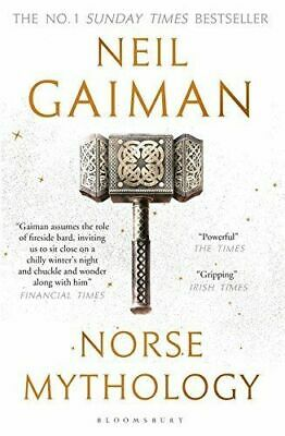 Norse Mythology By Neil Gaiman (New Paperback Book) Fast shipping!!