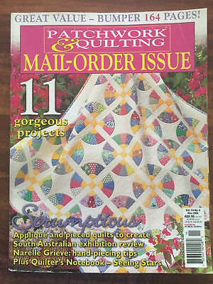 Australian Patchwork and Quilting Vol 14 No 4 -  May 2006 Mail Order Issue