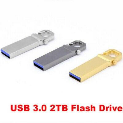 2TB USB3.0 Flash Drives Memory Metal Flash Drives Pen Drive U Disk For Laptop PC