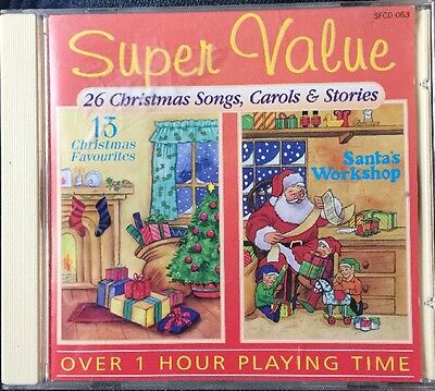 Super Value : 26. Christmas Songs, Carols & Stories CD.