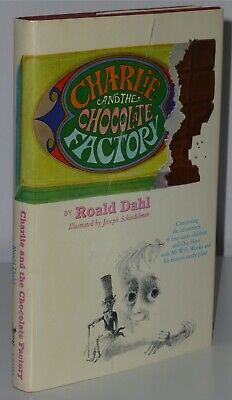 1st Issue Charlie And The Chocolate Factory Roald Dahl Knopf 1964 US H/B $3.95
