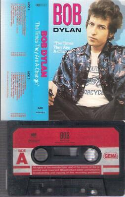 BOB DYLAN  The Times They Are A-Chagin´   cassette  PAPER LABEL    COLLECTORS