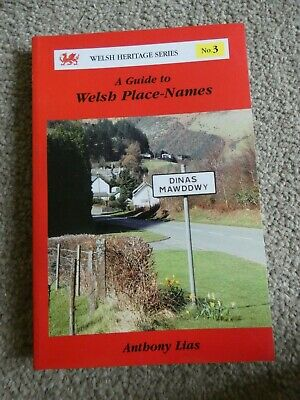 A Guide to Welsh Place Names Anthony Lias 1994 Heritage Series Paperback Book g