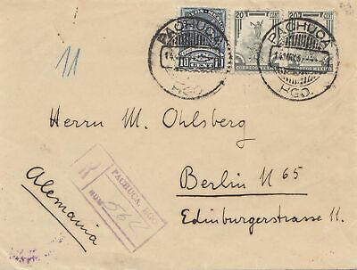 Mexico 1935: Husca/Pachuca registered to Berlin