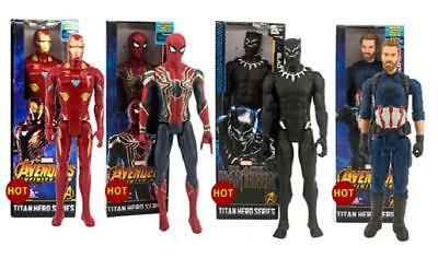 30cm Marvel The Avengers Superheld Spiderman Action Figur Figuren Spielzeug DE
