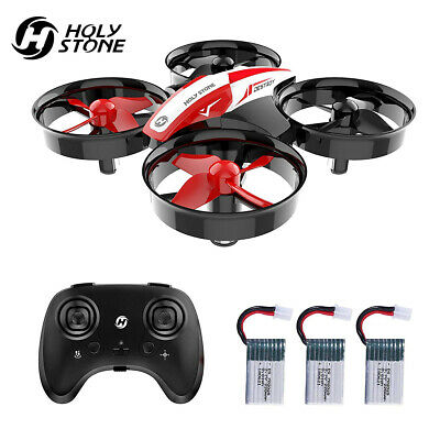 Holy Stone HS210 Mini Drohne RC Drone Quadrocopter Helikopter Indoor mit 3 Akkus