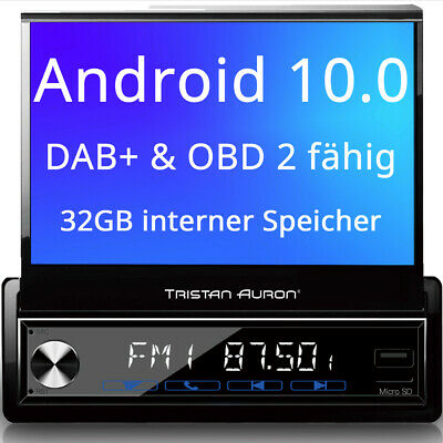 Tristan Auron Android Autoradio mit Navi Bluetooth Navigation DAB+ Touchscreen