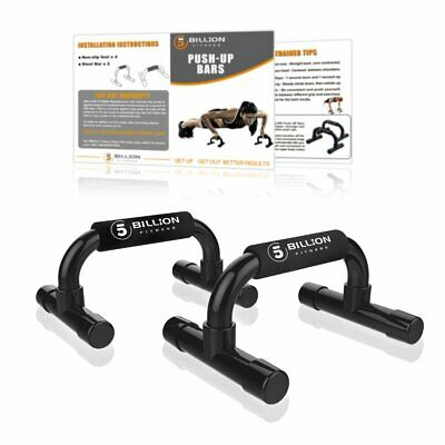 Fitness Push Up Bar Training Stand Home Gym Workout Body Building Tool