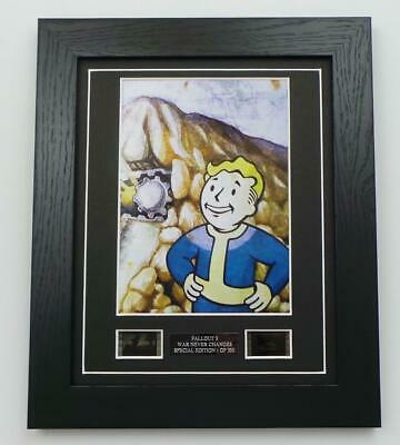 Fallout 3 Film Cell Original Video Game Memorabilia Limited Edition Gifts