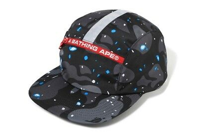c13976d771b8e A BATHING APE Goods SPACE CAMO JET CAP Black From Japan F S